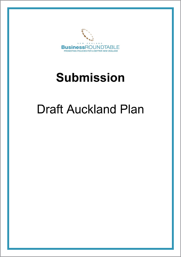 Submission Draft Auckland Plan