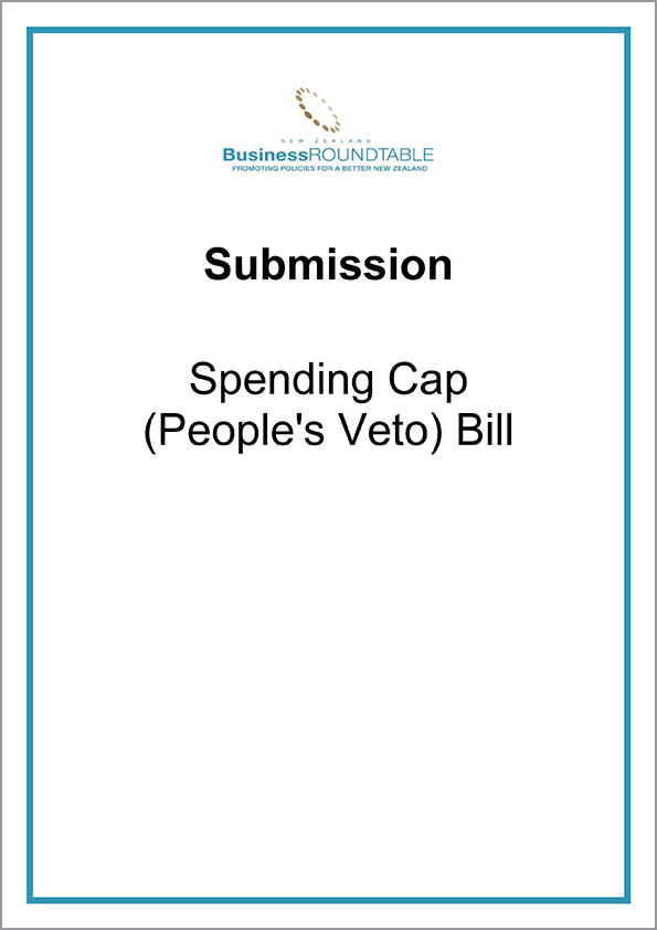Submission Spending Cap Peoples Veto Bill cover
