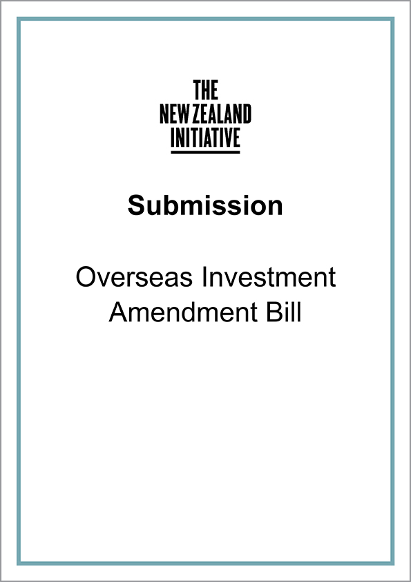 SubmissionsCover1 Overseas Investment Amendment Bill