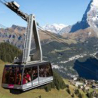 Swiss cablecar