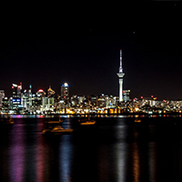 Auckland at night3