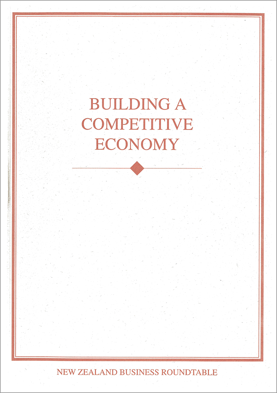 Building a competitive economy cover