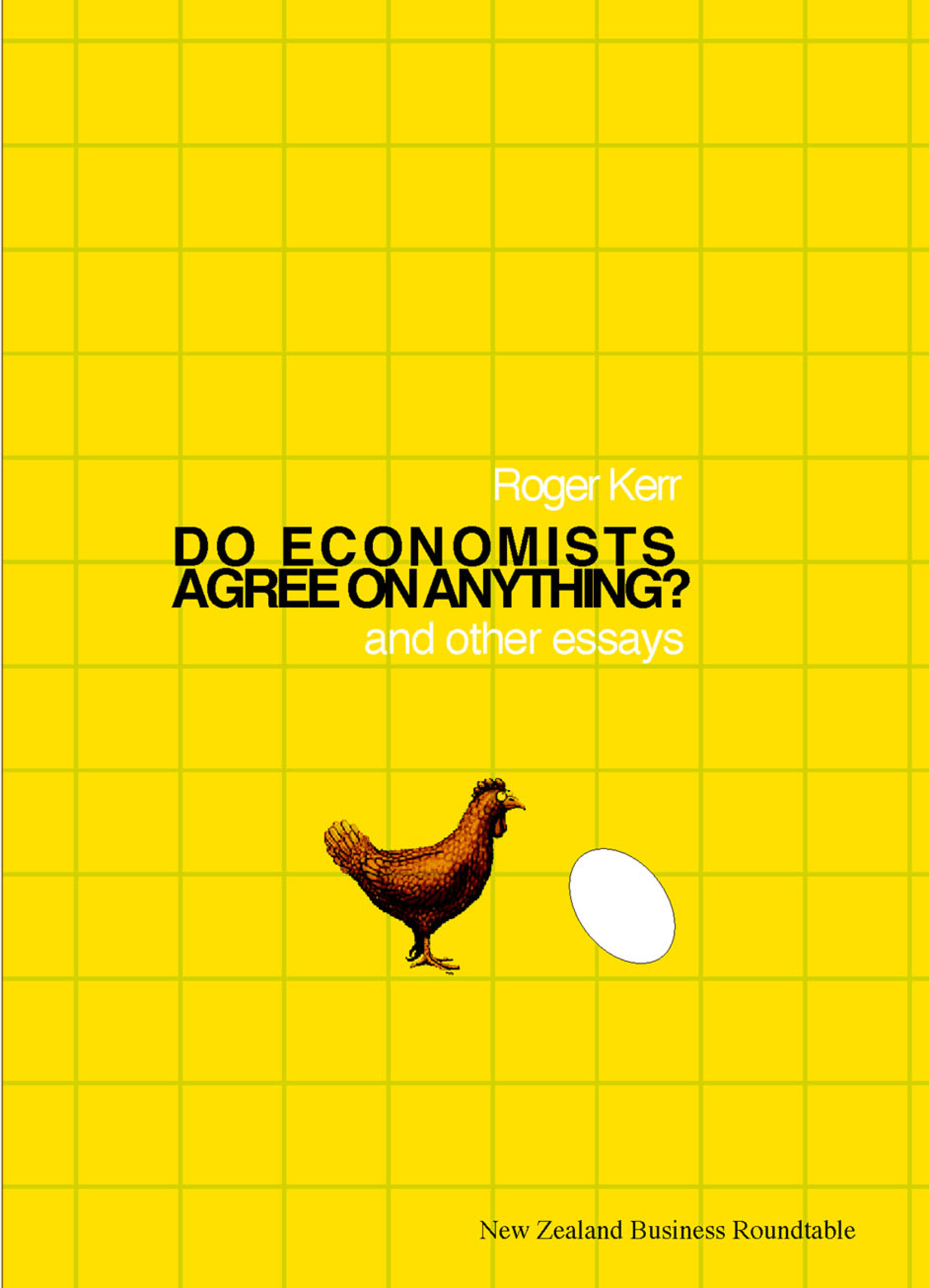 Do economists agree on anything cover