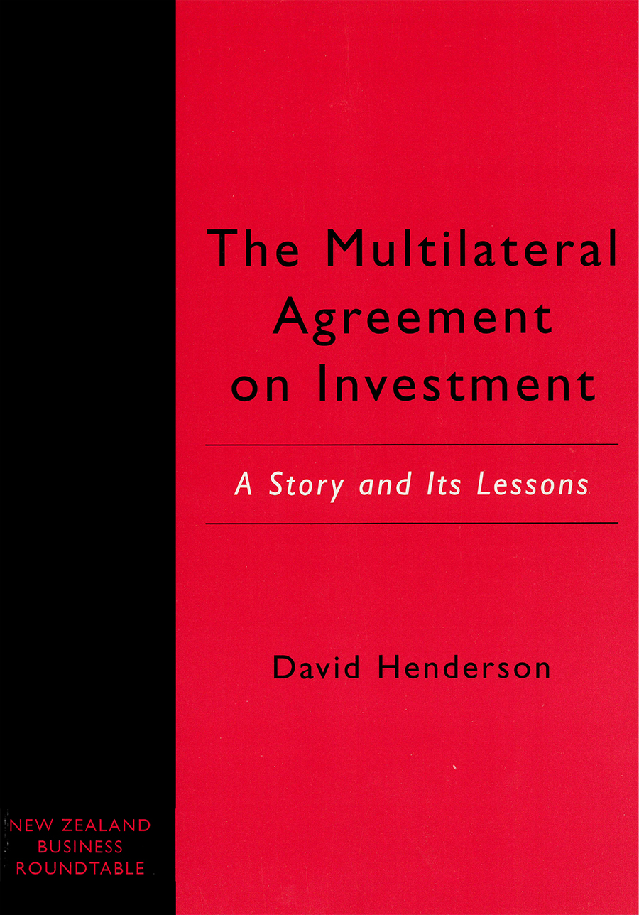 The Multilateral Agreement On Investment A Story And Its Lessons