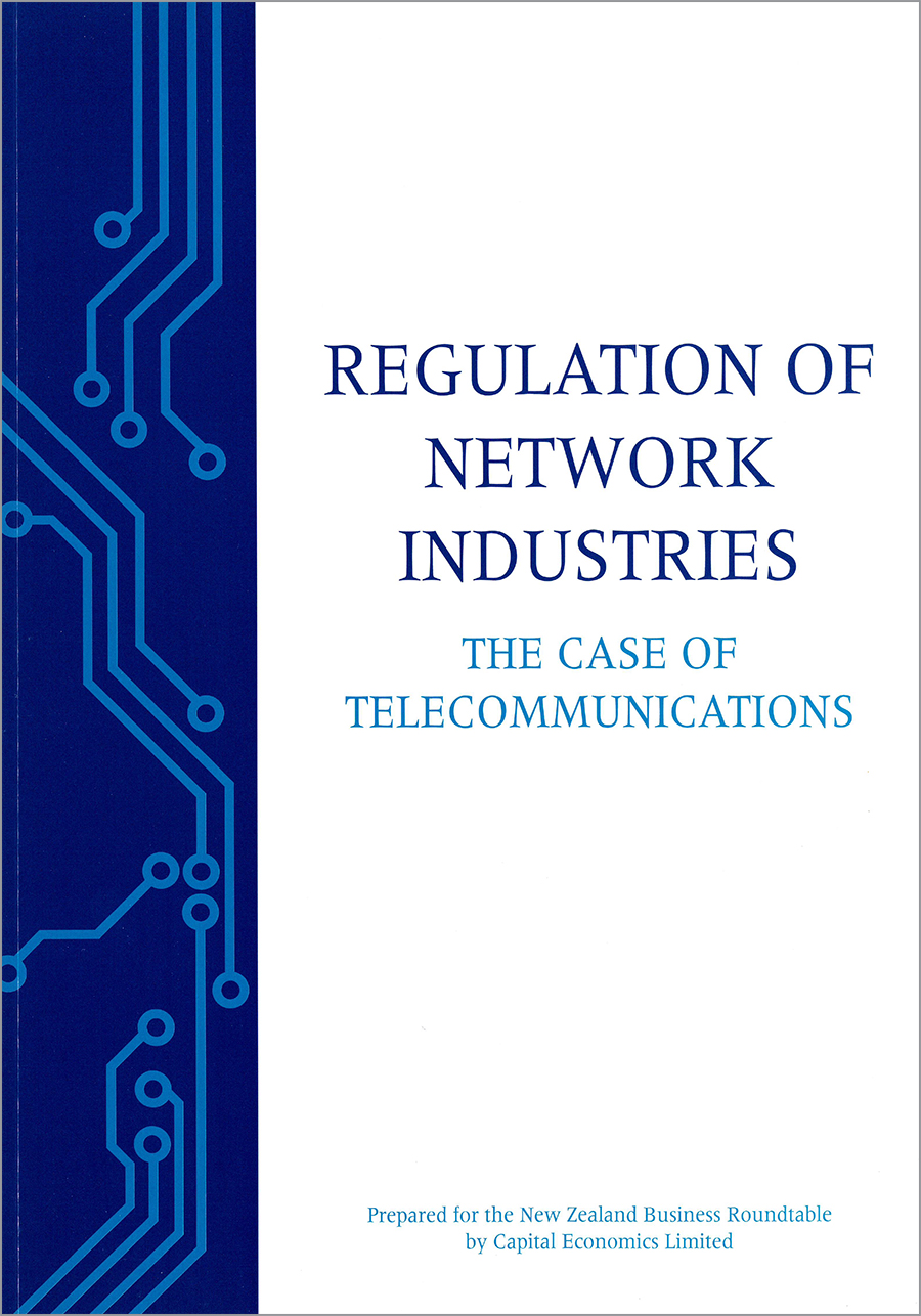 regulation of network industries cover2