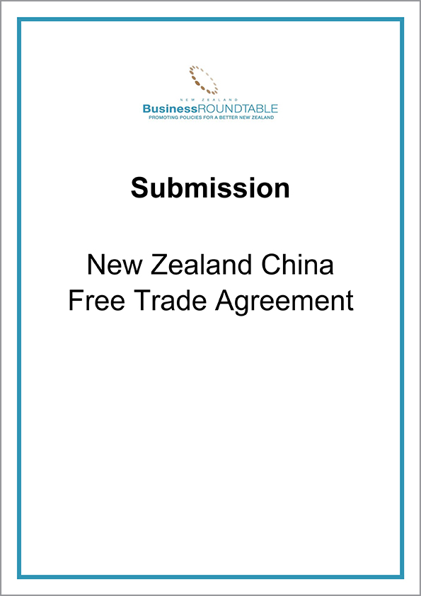 Submission New Zealand China Free Trade Agreement The New Zealand